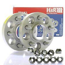 H&R DRM Spurplatten Spurverbreiterung Distanzscheibe Ø63,3 5x108 30mm // 2x15mm