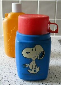 Snoopy Roughneck Thermos Flask and Robinsons 'Thirst Ranger' Water Bottle