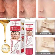 Beauty Face Body Crema Blanqueadora instantáneo Blanqueamiento Loción de piel oscura Corrector Jp