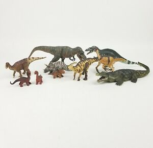 Battat & Safari Dinosaur Lot Adult & Babies