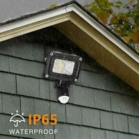 10W Outdoor Motion Sensor Flood Light Waterproof LED Lights Porch Security Lamp