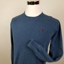 Mens Ralph Lauren Polo Vintage Sweatshirt Jumper Original Blue S Small