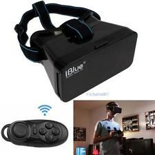 Virtual Reality 3D Glass VR BOX Google Cardboard + Bluetooth Controller Mouse KJ