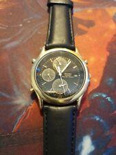 Vintage Mens Watch SEIKO Quartz World Timer, Pre-owned