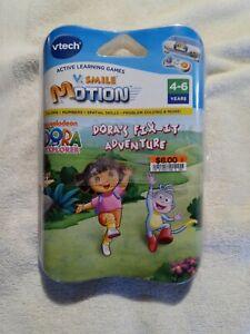 VTech V.Smile Motion Dora's Fix It Adventure Learning Game Ages 4-6  Sealed New