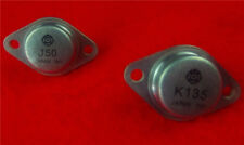 1PAIR NEW HITACHI 2SK135/2SJ50 K135/J50 TO-3 TRANSISTOR