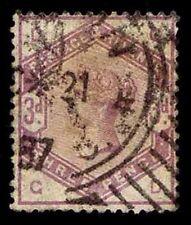 1883-84 Great Britain #102 Qv Watermark 30 - Used - Vf - Cv$95.00 (Esp#2639)