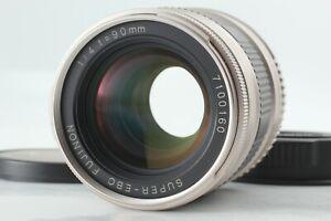 【CLA'd TOP MINT】 Fuji Fujifilm Super EBC Fujinon 90mm F/4 Lens TX-1 From JAPAN