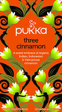 Pukka Tea Three Cinnamon 20 Teabags