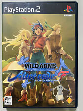 WILD ARMS ALTER CODE F [ Sony PlayStation 2 PS2 ] Japan Import