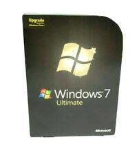 Microsoft Windows 7 Ultimate 32 & 64Bit Upgrade for Windows Vista w/ Product Key
