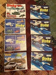 Dinky toys catalog Lot of 8