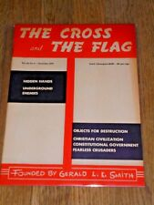 """The Cross and the Flag"" magazine, Nov. 1970, Gerald Smith / White Nationalism"