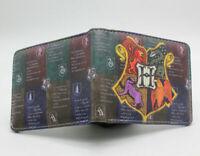 Anime Manga Custom made Cosplay Hogwarts Wallet as Shown USA Seller