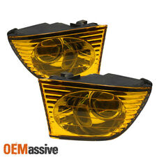 Fits 01-05 Lexus Is300 Altezza JDM Yellow Projector Fog Lights Left+Right Pair