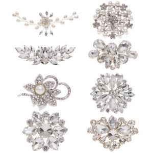 Clamp Wedding Shoe Clip Shoe Decorations Shiny Decorative Clips Charm Buckle