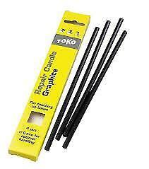 Toko Repair Candle - Black P-tex - 6mm - 5543042 | Drip Ski Tuning Base Repair