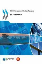 OECD Investment Policy Reviews: Myanmar (2014, Paperback)