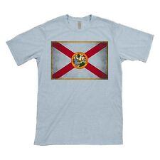 Florida Flag - Grunge - Distressed - Tshirt - Shirt - Florida