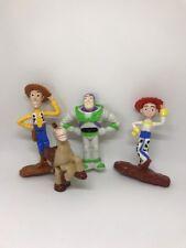 Paquete De 4 Disney pixar juguete historia Woody Buzz Jessie Nestle cereal Juguetes Bullseye