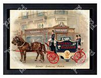 Historic Cherry Blossom Eau de Toilette, c.1880 Advertising Postcard