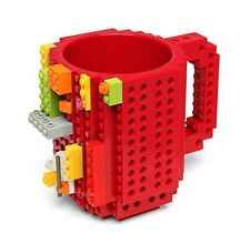 Lego Brick Mug Cup Band New Sealed Red