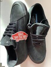 6.5 Vans Ultra Cush Lite All Black Sneakers Trainers Casual Comfort Sports Wear