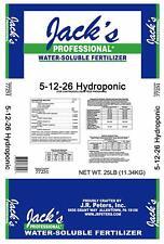 2LB Jack's Hydroponic 5-12-26 Part A Fertilizer