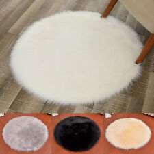 Baby Gym Play Indoor Fluffy Soft Round Blanket Mat Activity Crawling Carpet Pad