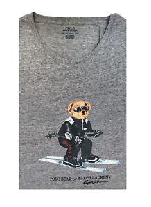 Polo Ralph Lauren Mens Ski Sport Bear T Shirt Limited Edition Big & Tall 3XB