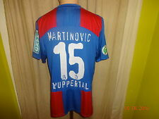 "Wuppertaler SV Nike Matchworn Trikot 2009/10 ""EMKA"" + Nr.15 Martinovic Gr.L"