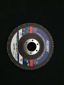 ATORN DIY Flap Disc GRIT 80 115 X 22.23 4.5''