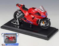 Maisto 1:18 2010 Motogp Ducati Desmosedici Casey Stoner Motorcycle Bike Model