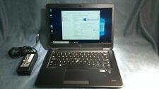 """DELL E7450 14"""" Laptop Core i5-5300U 2.30 Ghz 16 GB   256 GB SSD WEBCAM  FHD LCD"""