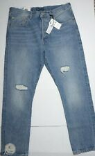 Levi's Made Crafted Womens 501 Button Fly Jeans Sz 31x28 Distressed Selvedge