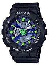 Casio Baby-G * BA110PP-1A Punching Pattern Black Anadigi Watch COD PayPal