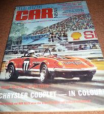 1977 RACING CAR NEWS  AMAROO,ORAN PARK,WANNEROO,WINTON,GEOGHEGAN,CHIVAS,BRABHA
