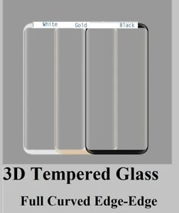 SAMSUNG Note 8 S20 S10 S8 S9 S7 S6 PLUS 3D CURVE TEMPERED GLASS SCREEN PROTECTOR