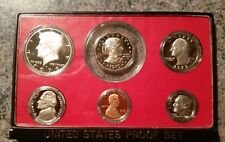 1979 US Proof Set Type 2 S Series Excellent condition, Original box coins minty