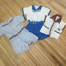 Lot Vintage Summer children's clothing 1940's 1950's Boys Shorts Shirt
