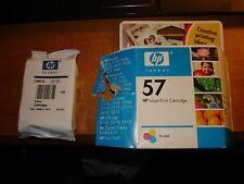 Genuine HP 57 Ink Cartridge Tri-Color C6657A Open Box, Guaranteed