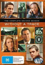 Without A Trace : Season 2 (DVD, 2005, 4-Disc Set)