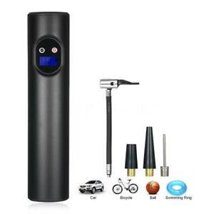 USB Wireless 12V Akku Luftpumpe Auto Reifen Druckluft Fahrrad Kompressor T7D7
