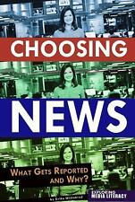 NEW Choosing News: What Gets Reported and Why by Barb Palser Library Binding Boo