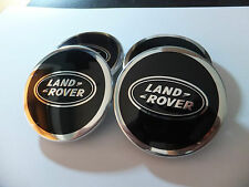 LAND ROVER RANGE ROVER CENTRE CENTER CAPS DISCOVERY SPORT SET OF 4 HUB NEW