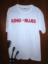 GIBSON GUITARS medium T shirt KING OF THE BLUES Nashville Orville guitar tee