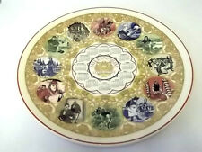 WEDGWOOD CREAM WARE DECORATIVE CALENDAR FOR 1999   WITH PEOPLE FROM LITERATURE