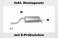 Endschalldämpfer Opel Corsa D 1.3CDTi 2006-2014 Endtopf Auspuffanlage
