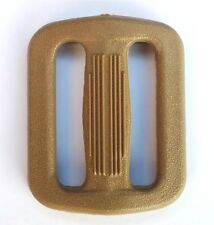 "Nexus Triglide Buckle 25mm (1"") Set of Four Coyote Tan Plastic Webbing Ring TG25"