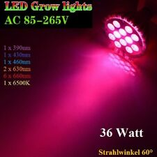 36W Grow LED Pflanzen Lampe Plant Light 6 Band 6500K E27 Growlight Full Spectrum